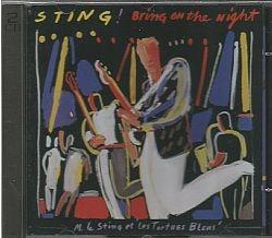 cd sting - bring on the night (usado/otimo)
