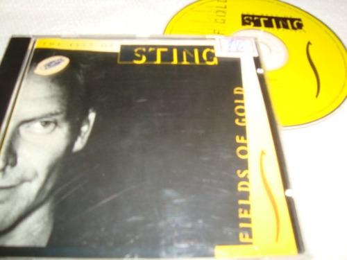 cd  sting  field of gold  arte som