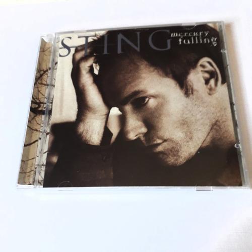 cd   sting   mercury falling  edición americana   nuevo