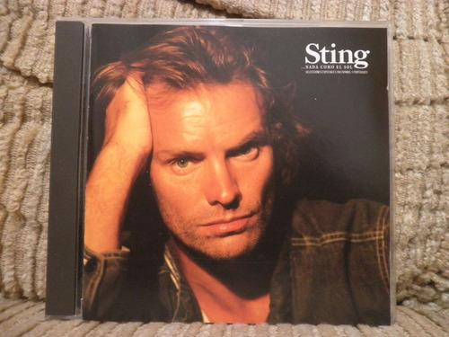 cd sting - nada como el sol - importado - ep 5 músicas