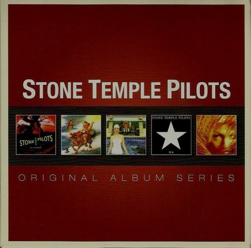 cd stone temple pilots - album series nuevo obivinilos
