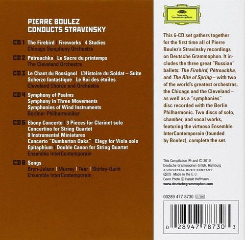 cd stravinsky [box set]