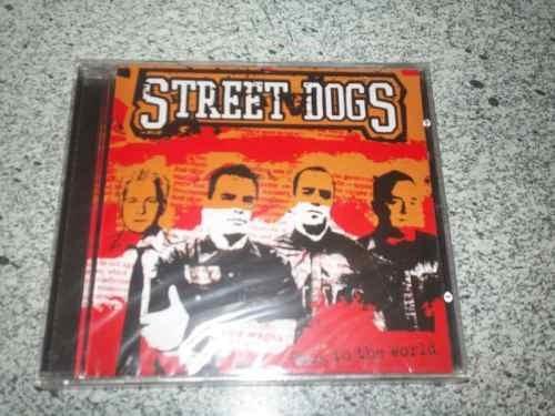 cd  street dogs back to the world - novo e lacrado - b249