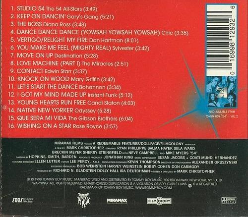 cd-studio 54-vol.1-em otimo estado
