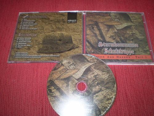 cd sturmkommando / schutztruppe - note des hasses-teil i rac