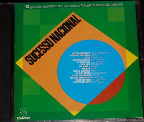 cd sucesso nacional 1989 som livre  'original'