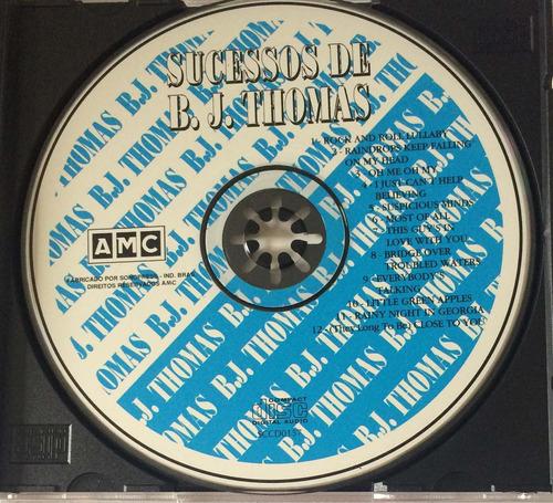 cd sucessos de b.j thomas (hbs)