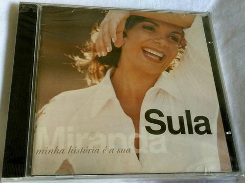 cd sula miranda (minha história é sua) hbs