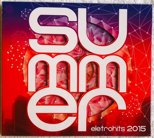 cd summer eletro hits 2015 * lacrado original pronta entrega