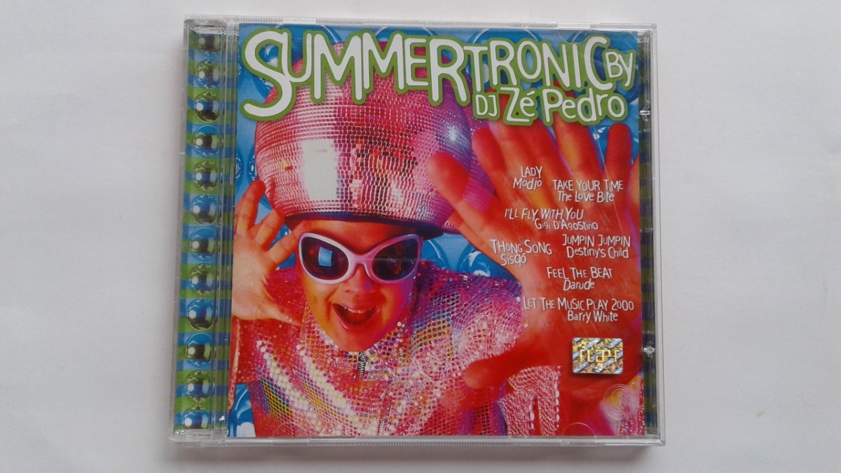 Cd Summertronic Dj Zé Pedro Seminovo