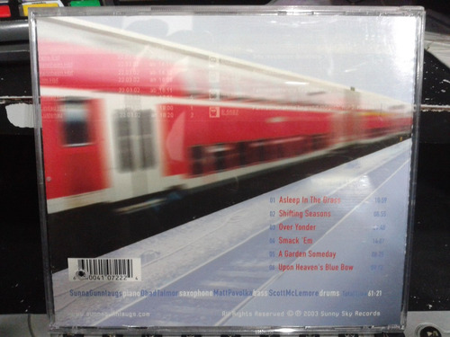 cd - sunna gunnlaugs - live in europa (promoção)