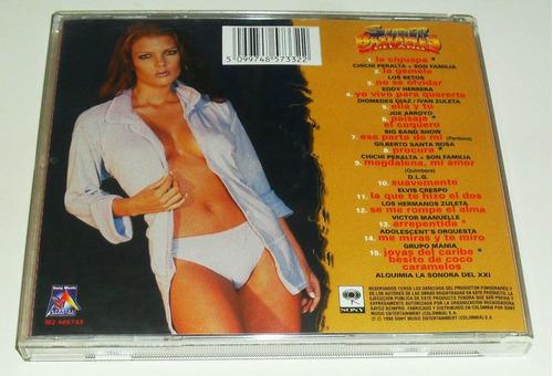 cd super bailables del año / varios / importado