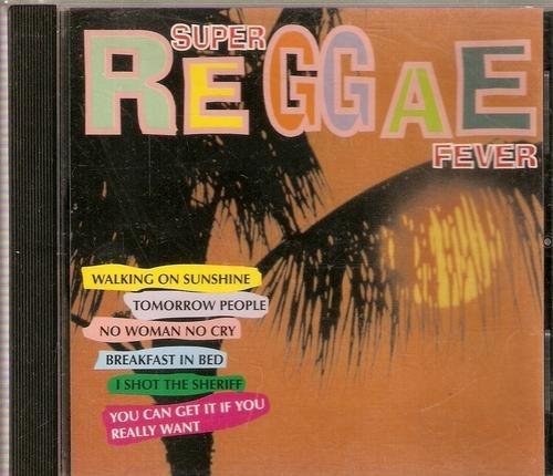 Cd Super Reggae Fever - Novo E Lacrado - 315b249
