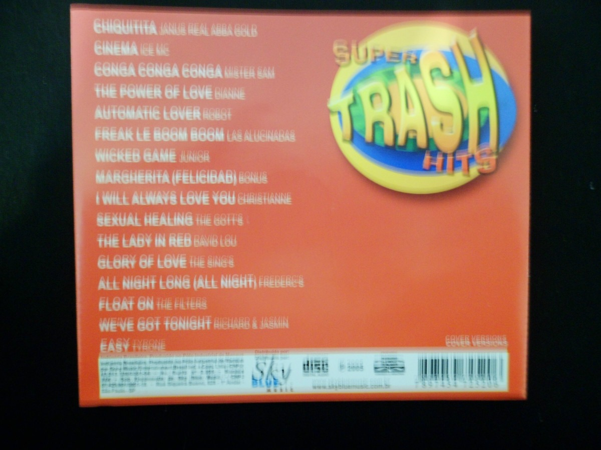 Cd super trash hits flash house m sicas anos 80 90 ice mc for 80s house music hits