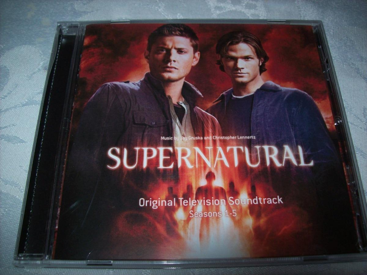 Cd - Supernatural - Season 1-5 - Importado