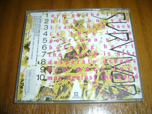 cd survivor / greatest hits (made in france 1990)