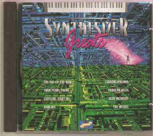 cd synthesizer greats - novo lacrado***