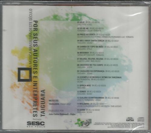 cd taiguara - programa ensaio ao vivo sesc - lacrado
