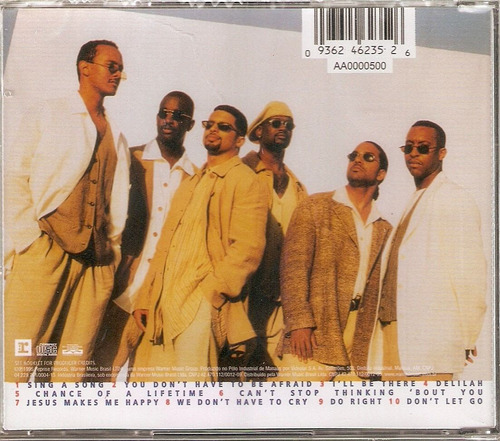 cd take 6 - bealtiful world  - novo***