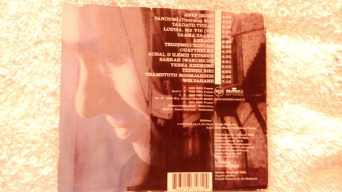 cd takfarinas - musica yal - importado