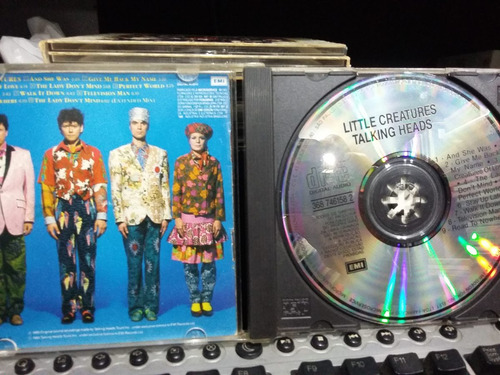 cd - talking heads / little creatures / emi records