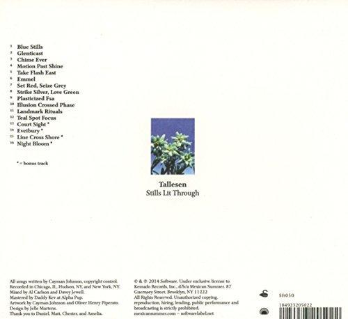 cd : tallesen - stills lit through (cd)