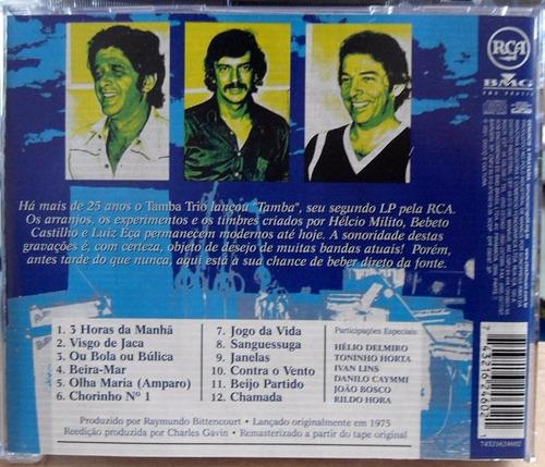 cd - tamba trio (1975) 100 anos de música