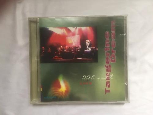 cd tangerine dream  220 volt live
