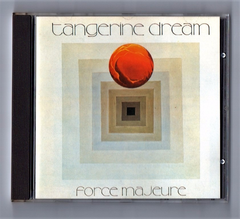 Cd - Tangerine Dream - Force Majeure - Importado