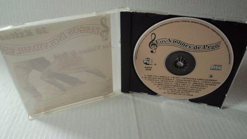 cd tangos inolvidables / los violines de pego / 2002 rare