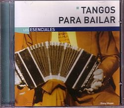 cd tangos para bailar los esenciales (usado/otimo)