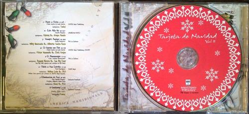 cd - tarjeta de navidad - vol.2 - varios artistas - original