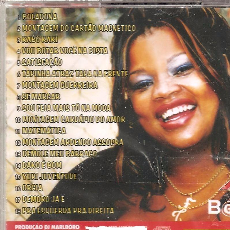 Cd Tati Quebra Barraco - Boladona - Rap Hip Hop Funk Carioca - R  19 ... 7731a7802a8