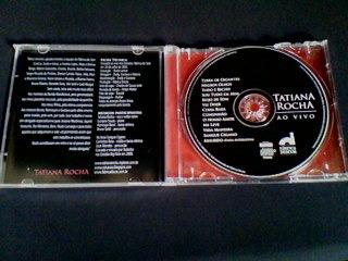 cd tatiana rocha ao vivo  (raridade)
