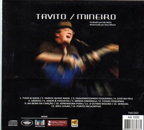 cd tavito - mineiro - 2014 - tratore - digipack