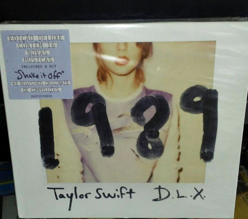 cd - taylor swift - 1989 - deluxe edition - lacrado