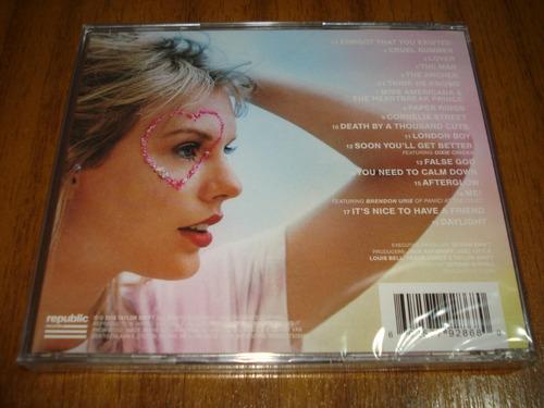 cd taylor swift / lover (nuevo y sellado) europeo