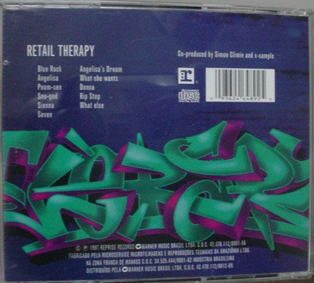 cd   t.d.f.  retail therapy   -  b145