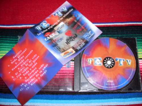 cd / te amo tv - los exitos originales de telenovelas