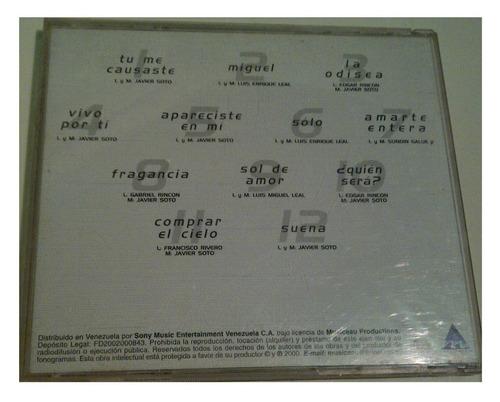 cd - tecupae - la odisea - 2000 - original