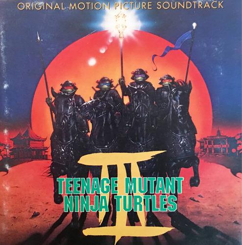 cd teenage mutant ninja turtles 3 soundtrack importado eua