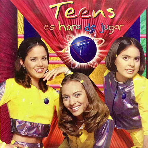 cd teens es hora de jugar promo usado