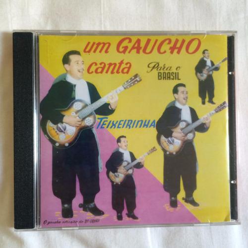 cd teixeirinha ( um gaucho canta para o brasil ) hbs