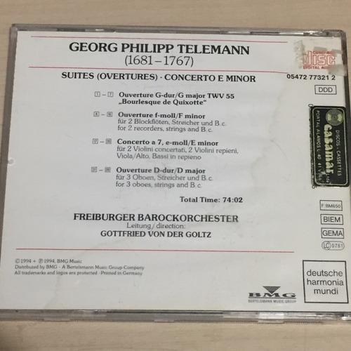 cd telemann - suites - concerto freiburger