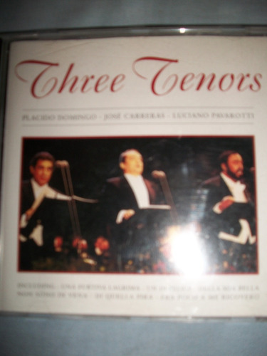 cd tenores pavarotti carreras domingo vendo o canjeo