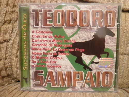 cd  teodoro sampaio - sucessos de ouro