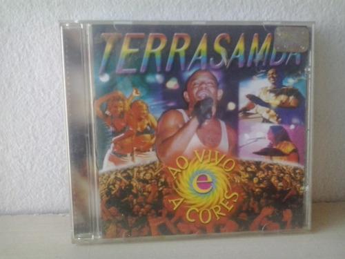 cd terra samba - ao vivo envio 9,00$