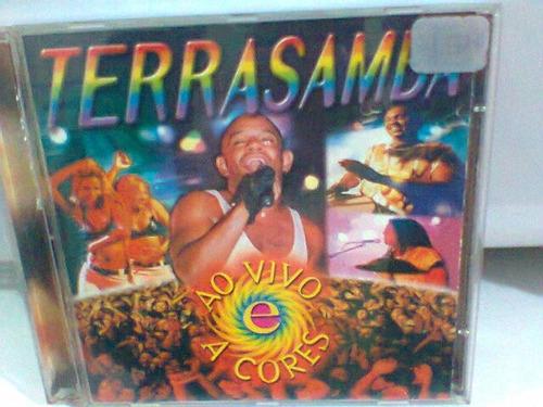 cd terrasamba  /  ao vivo e a cores-1998-  (frete grátis)