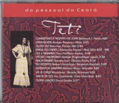 cd teti - do pessoal do ceará - 1998 - nonato luiz ednardo