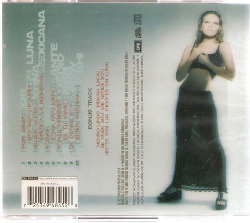 cd thalía - amor a la mexicana - novo lacrado***